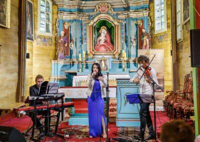 koncert wTyliczu wramach festiwalu Muzyka Zaklęta wDrewnie